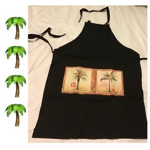 Other - 🏝Brand new palm tree unisex apron🏝
